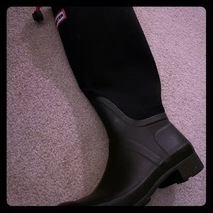 Hunter boots - Fabric top - size 37